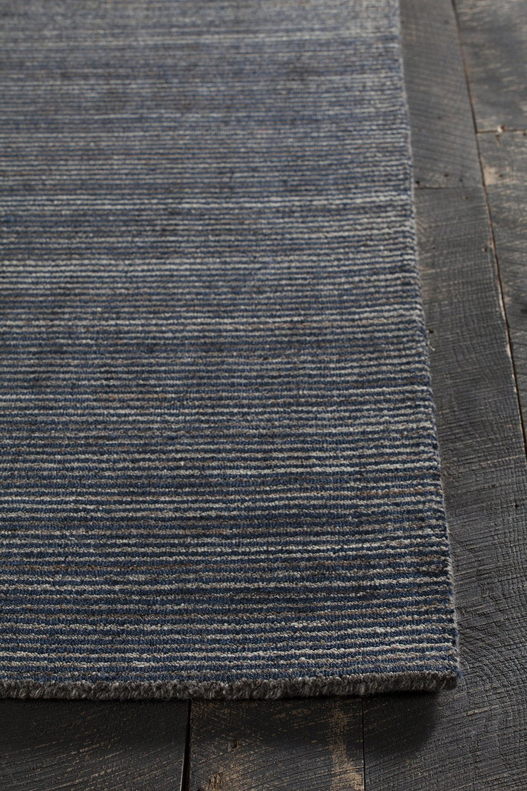 Citizen Collection Hand-Woven Area Rug in Denim
