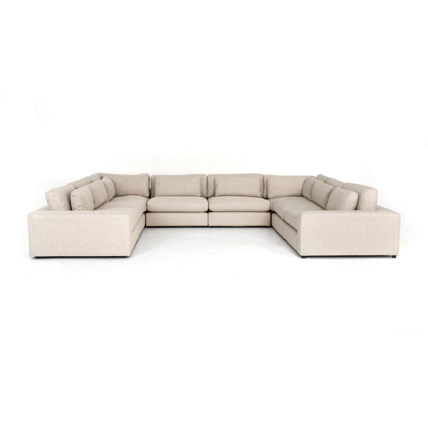 Bloor 8 Pc Sectional In Essence Natural
