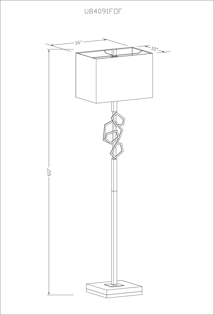 Cosworth Floor Lamp