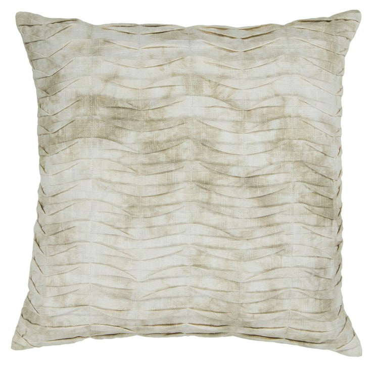 Cotton Pillow in Light Brown