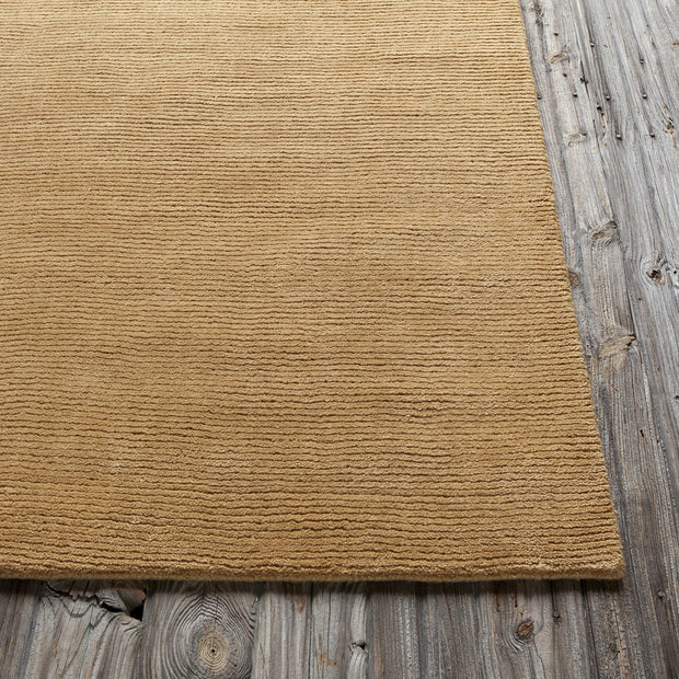 Ferno Collection Hand-Tufted Area Rug in Gold
