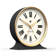Hotel Alarm Clock Gold with White Face design by Newgate
