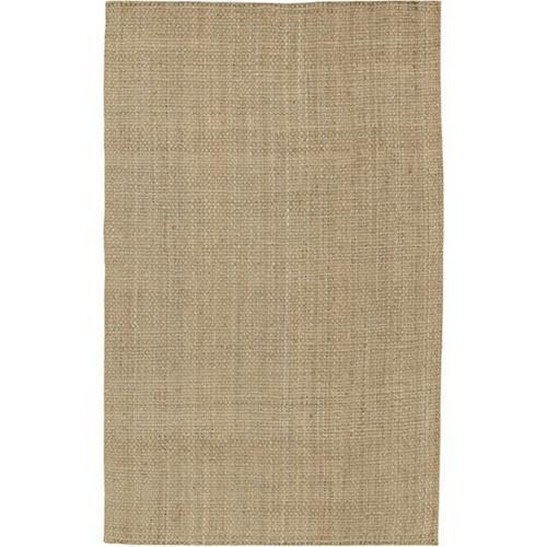 Jute Woven Collection Area Rug in Brown