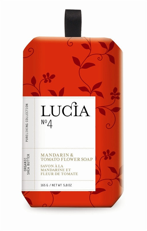 Lucia Cherry Tomato & Basil Soap design by Lucia