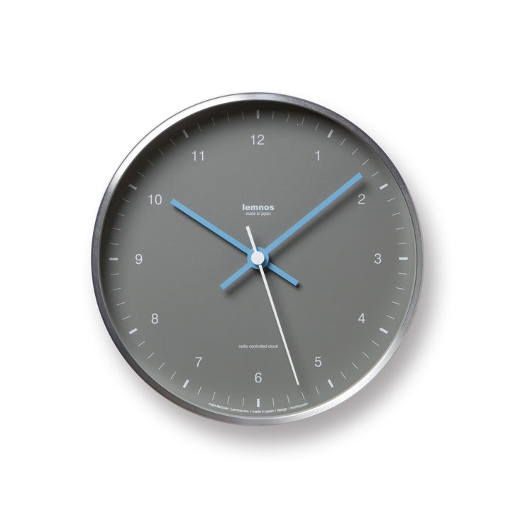 Mizuiro Wall Clock in Grey