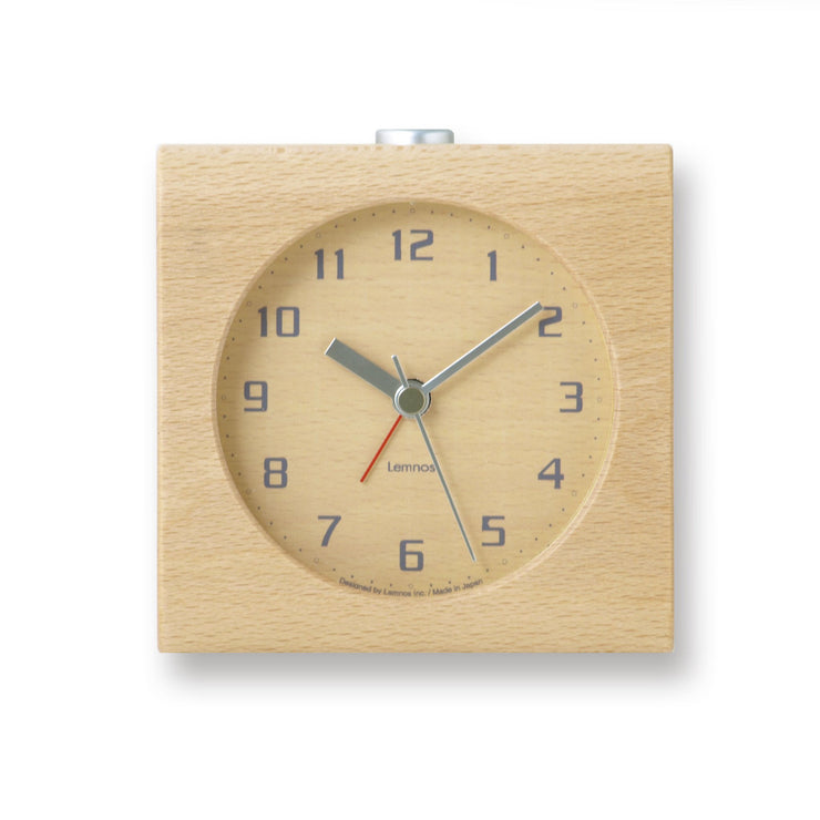 Block Alarm Clock in Natural