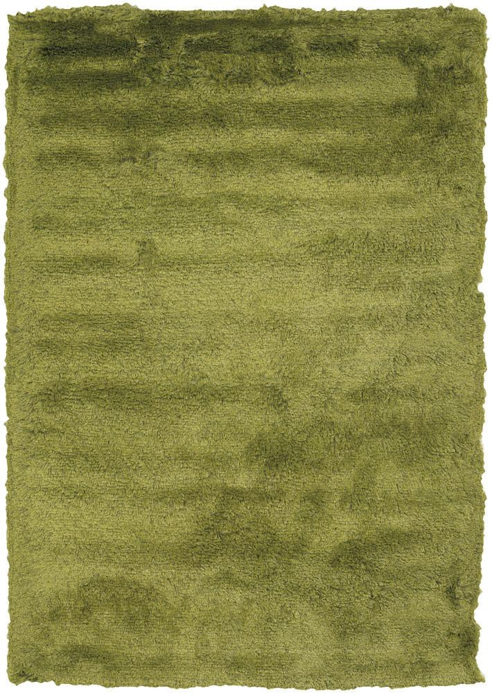 Mercury Collection Hand-Woven Area Rug in Green
