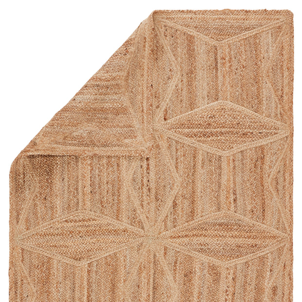 Abel Natural Geometric Beige Area Rug