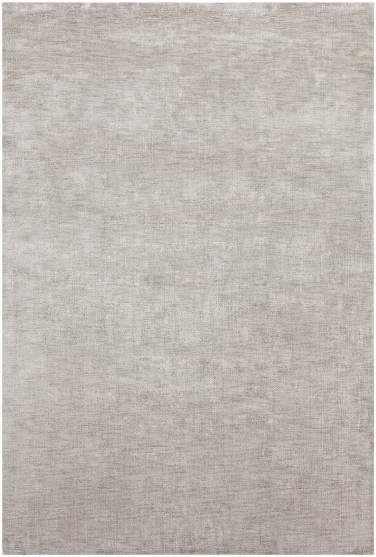 Opel Collection Hand-Woven Area Rug in Grey & Cream