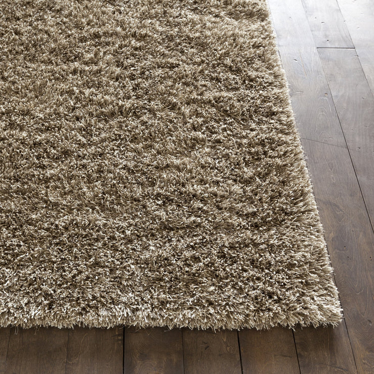 Orchid Collection Hand-Woven Area Rug in Taupe