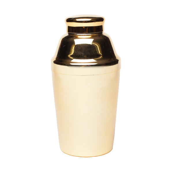 Gold Cocktail Shaker design by Odeme