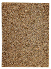 Palo Collection Hand Woven Polyester Area Rug in Beige design by Mat the Basics