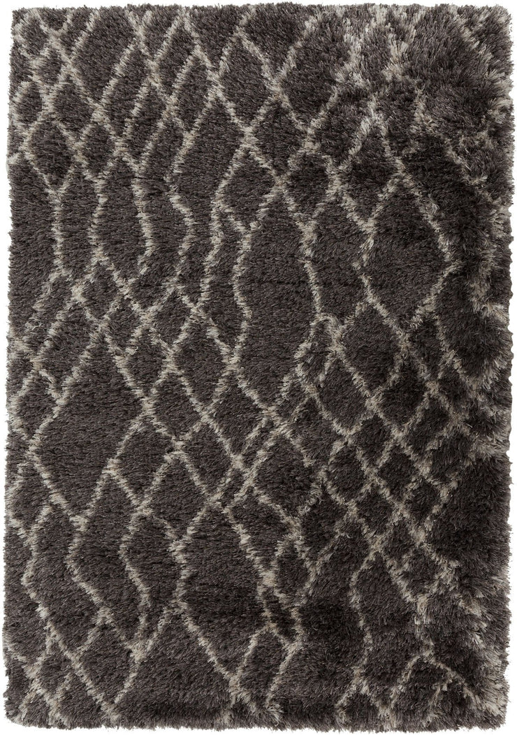 Rhapsody Collection Ultra Plush Area Rug in Parchment