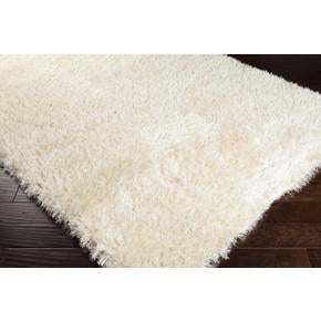 Rhapsody Collection Ultra Plush Area Rug in Peach Cream design by Surya