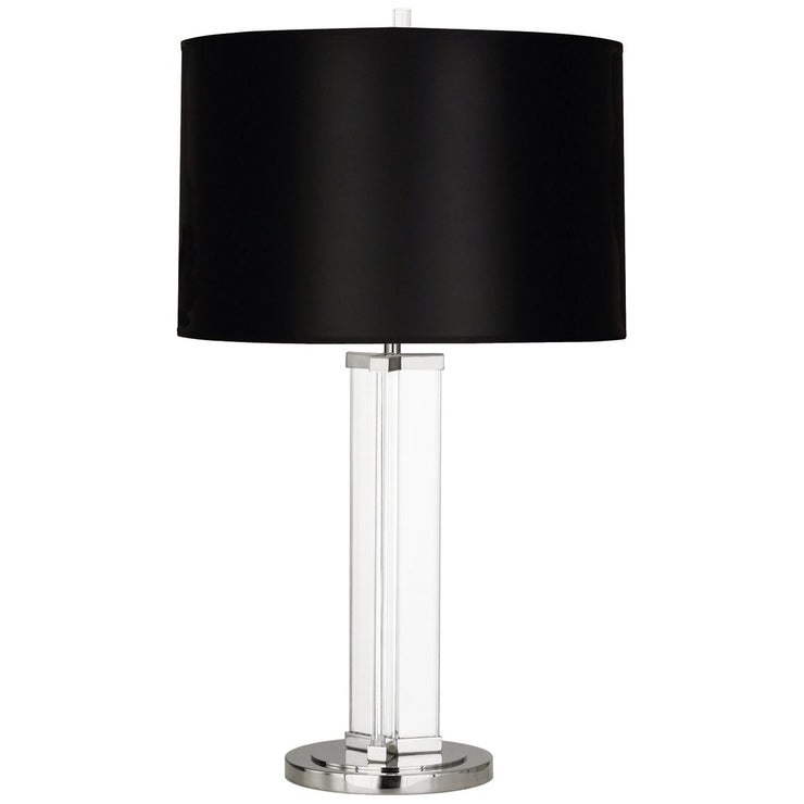 Fineas Column Table Lamp in Various Finishes design by Robert Abbey