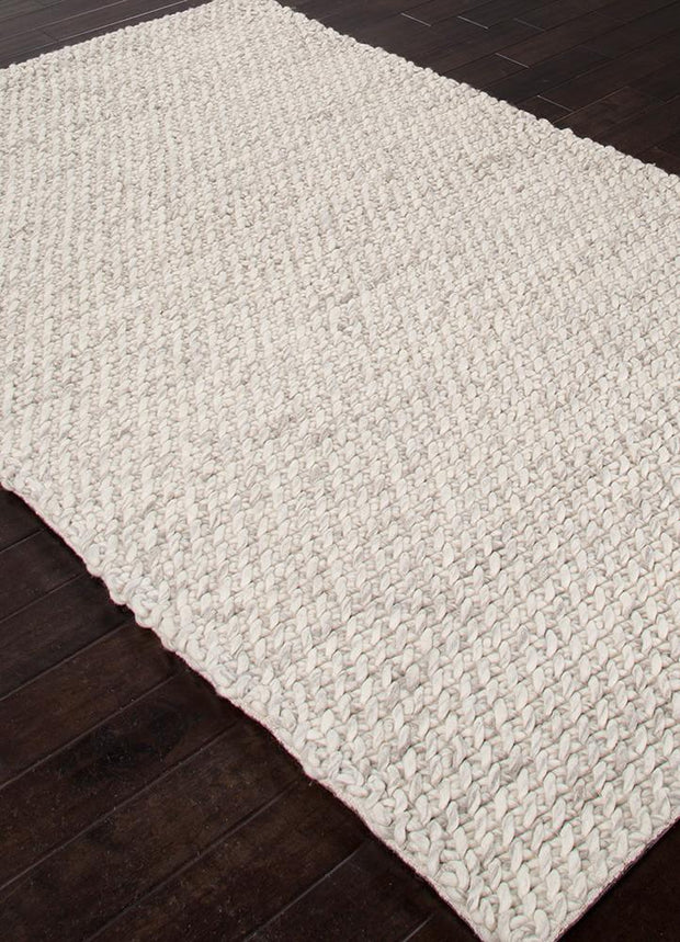 Scandinavia Dula Rug in Snow White & Drizzle design by Jaipur Living