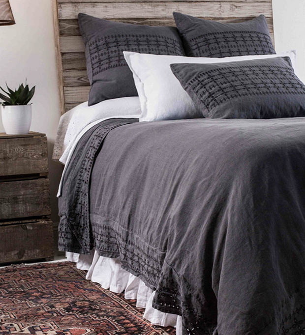 Layla Bedding in Midnight design by Pom Pom at Home