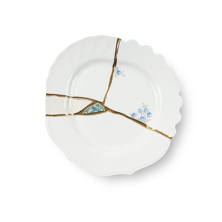 Kintsugi Small Dinner Plate 1 by Seletti