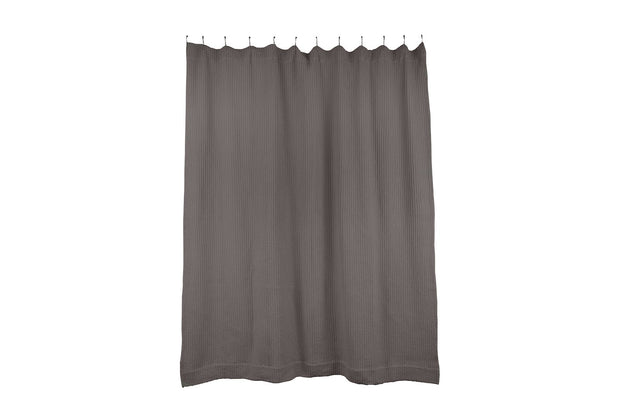 Simple Waffle Shower Curtain in Various Colors design by Hawkins New York