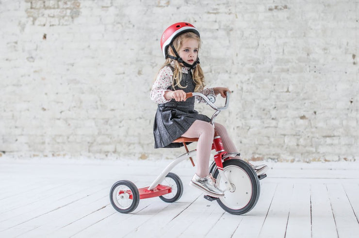 Vintage Red Tricycle by BD