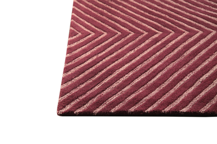 Union Square Collection Hand Tufted Wool Rug in Mauve design by Mat the Basics