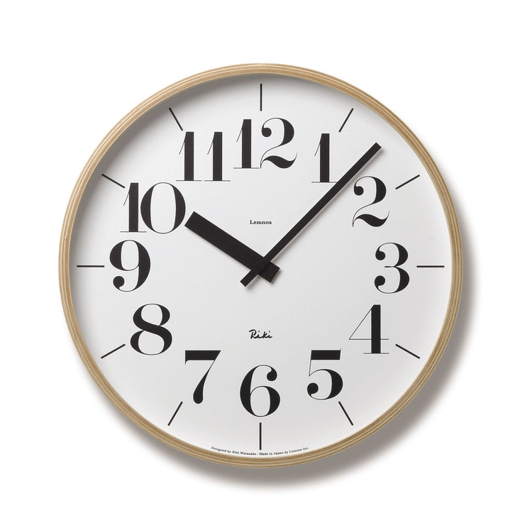 Riki Large Clock