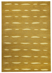 Wink Collection Hand Tufted Wool Area Rug in Olive design by Mat the Basics
