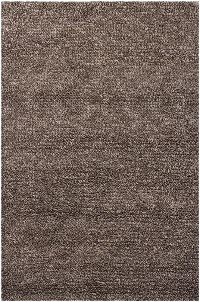 Zeal Collection Hand-Woven Area Rug in Charcoal