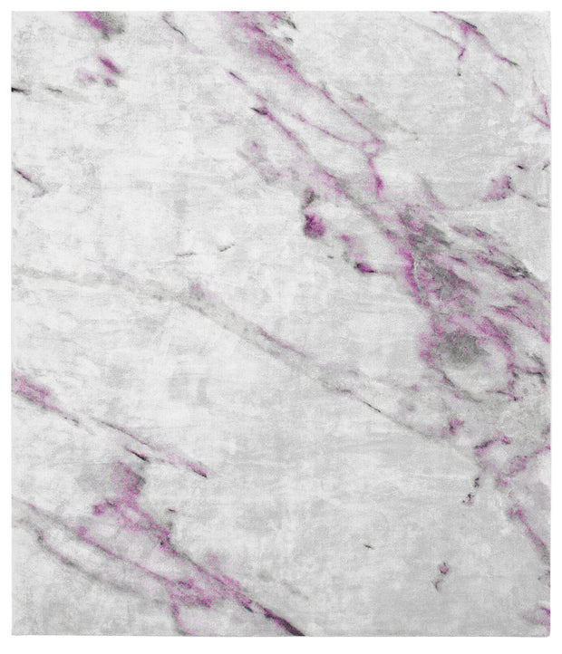 Altavilla Milicia Hand Knotted Rug in Purple design by Second Studio