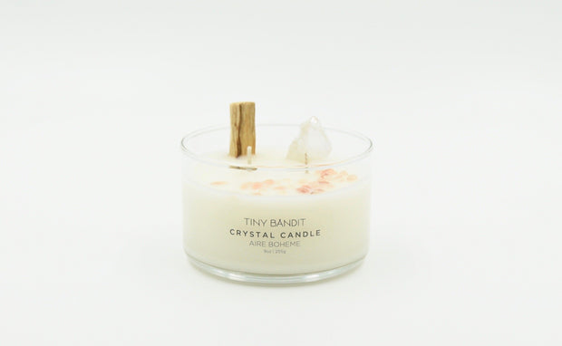 Aire Boheme Crystal Candle in Various Sizes design by Tiny Bandit