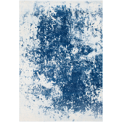 Aberdine Rug in Bright Blue & Pale Blue