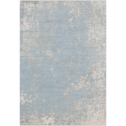 Aberdine Rug in Pale Blue & Light Gray