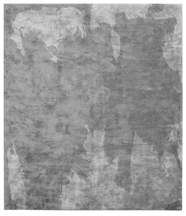 Action Caccia Hand Knotted Rug in Grey design by Second Studio