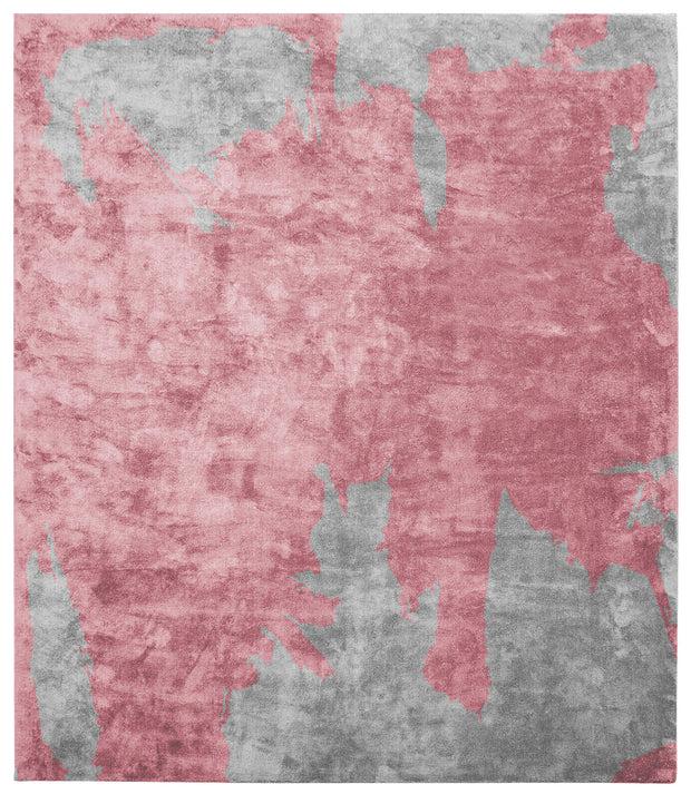 Action Caccia Hand Knotted Rug in Red design by Second Studio
