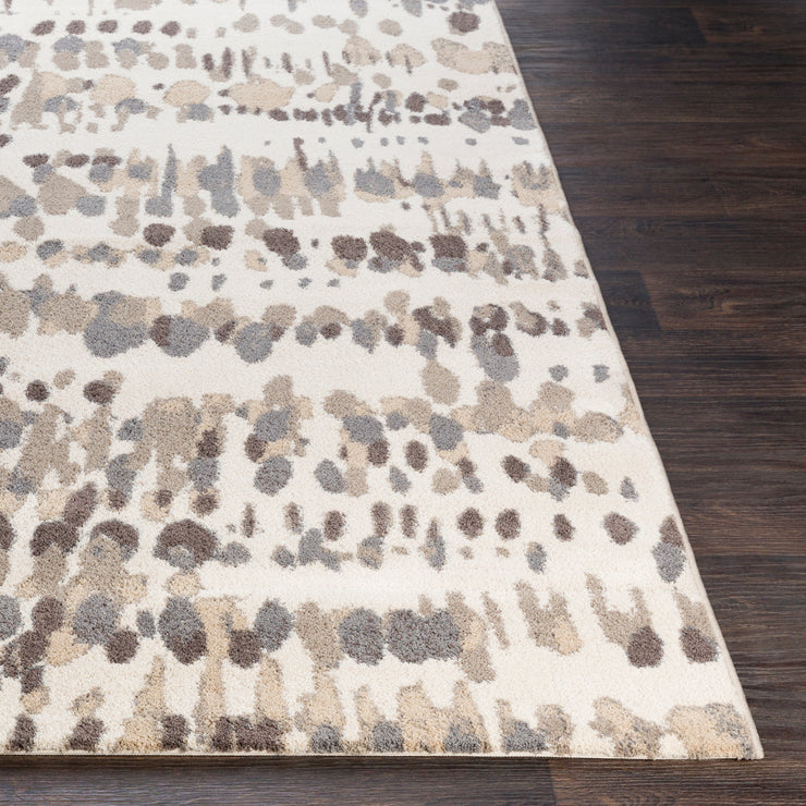 Apricity Rug in Neutral & Gray