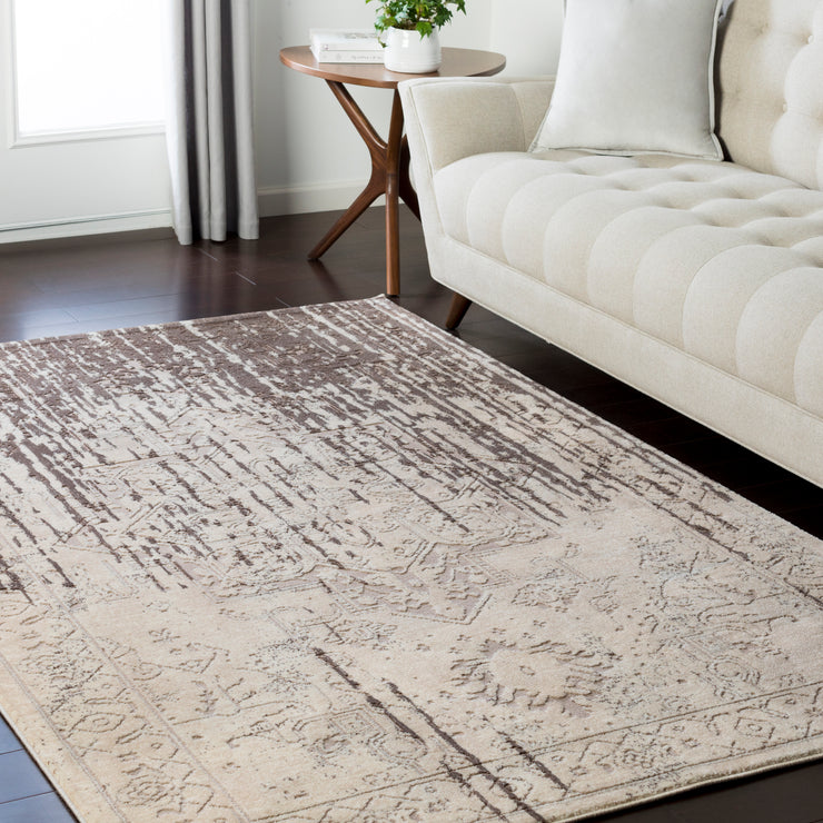 Asia Minor Rug in Brown & Neutral