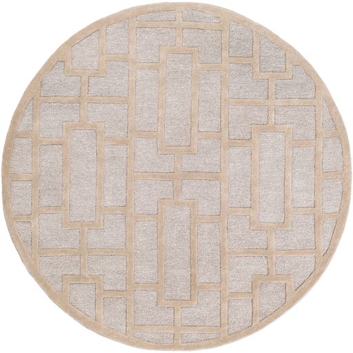 Arise Rug in Light Gray & Khaki