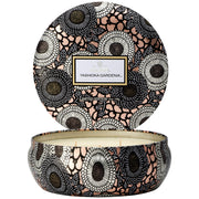 3 Wick Decorative Candle in Yashioka Gardenia design by Voluspa