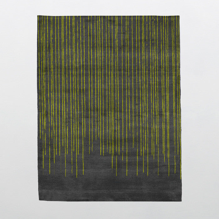 Beverly Night Glow Collection Wool and Viscose Area Rug in Assorted Colors design by Second Studio