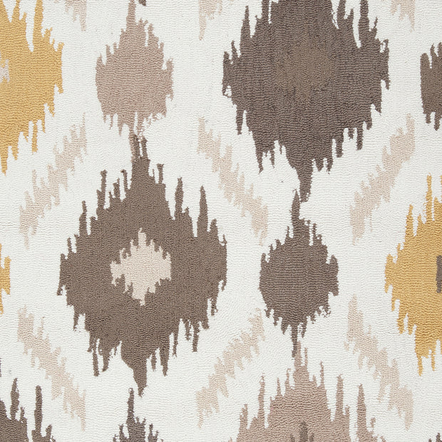 Brentwood Collection Area Rug in Feather Grey, Gold, and Antique White