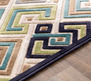 Basilica rug in Beige and Taupe