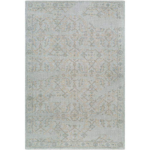 Christie Rug in Medium Gray & Sage