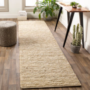 Continental Collection Jute Area Rug in Antique White