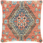 Coventry Woven Pillow in Bright Red