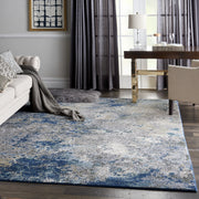 Artworks Rug in Blue/Grey by Nourison