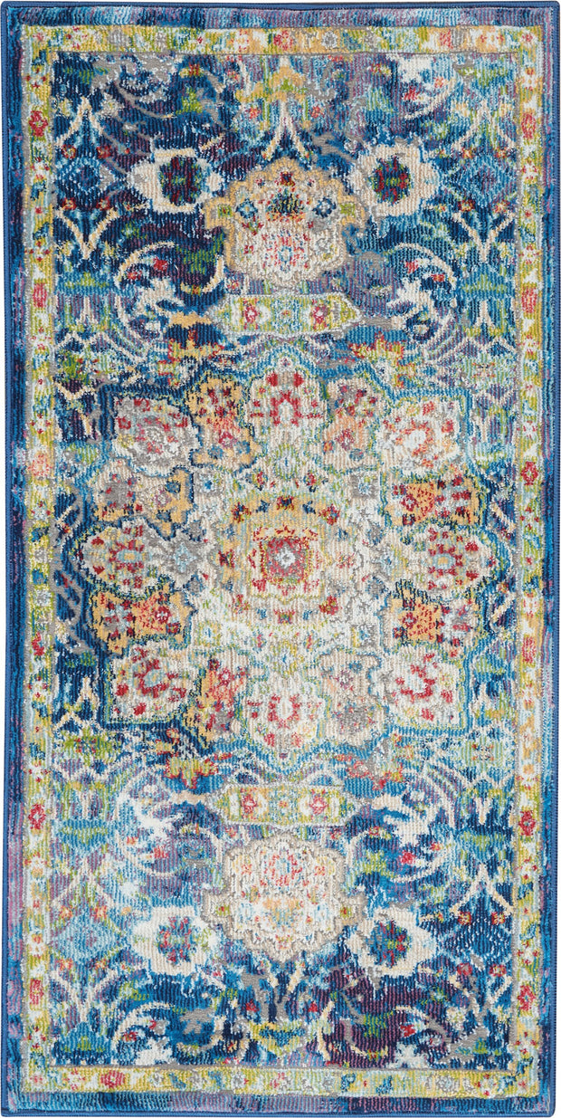 Ankara Global Rug in Blue by Nourison