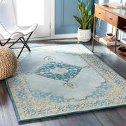 Fire Work Hand Tufted Rug