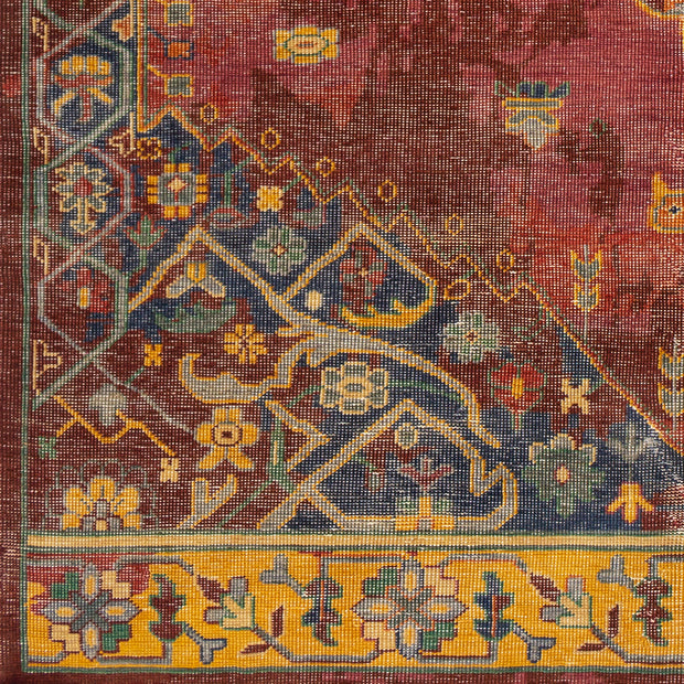 Festival Hand Knotted Rug