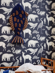 Fish Tufted Wall / Floor Deco Rug by Ferm Living