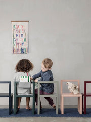 Little Architect Chair in Bordeaux by Ferm Living